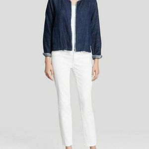 Eileen Fisher Indigo Organic Cotton Jacket NEW